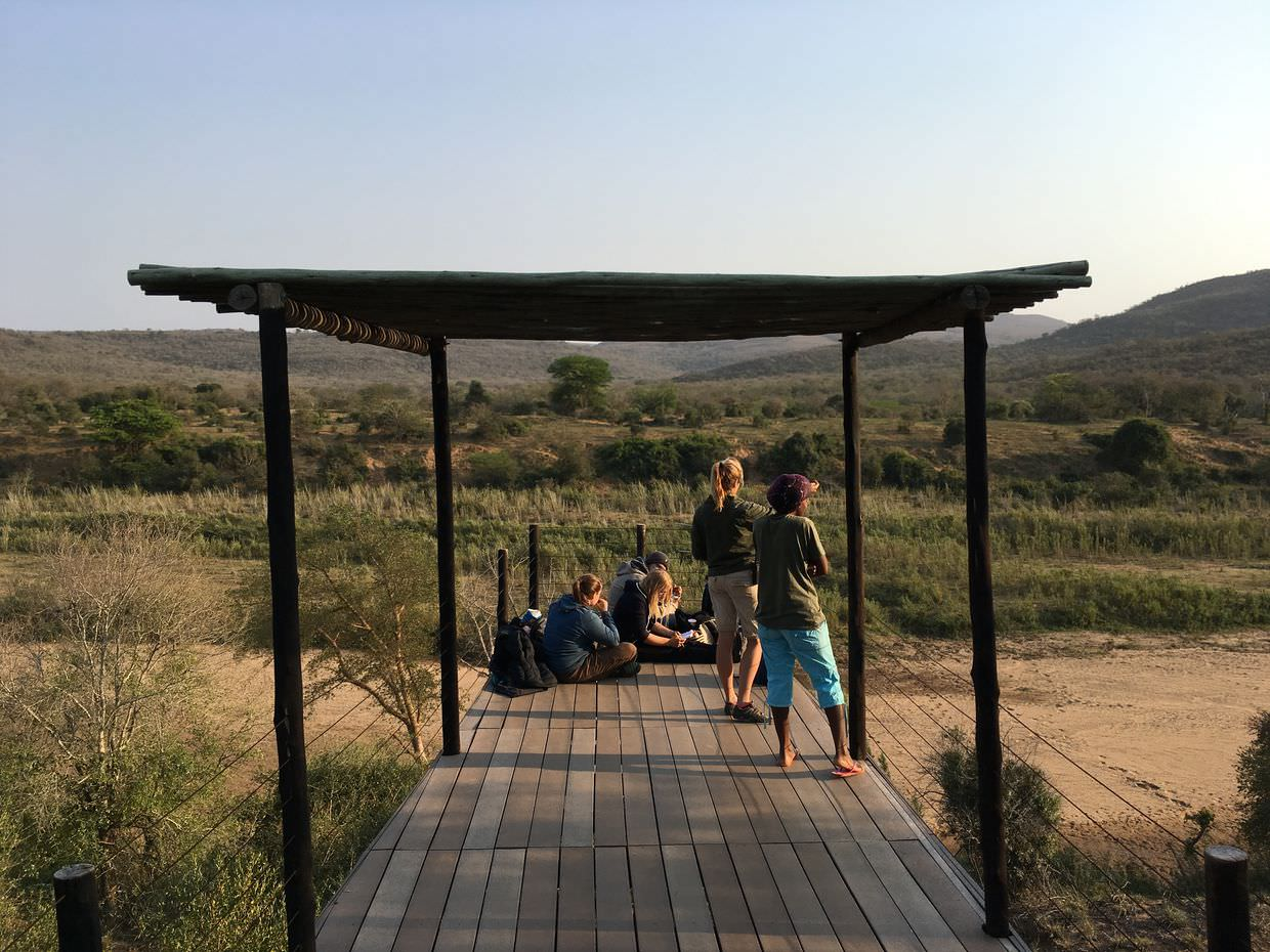 The lookout at Nselweni lodge