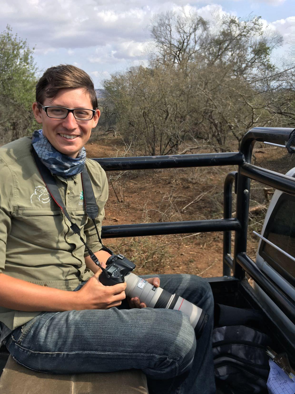 Paul on safari
