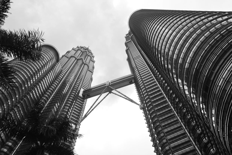 Beneath the Petronas Towers