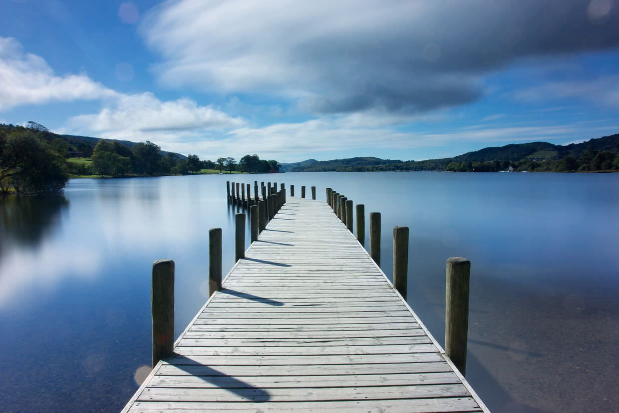 Jetty at Coniston Water