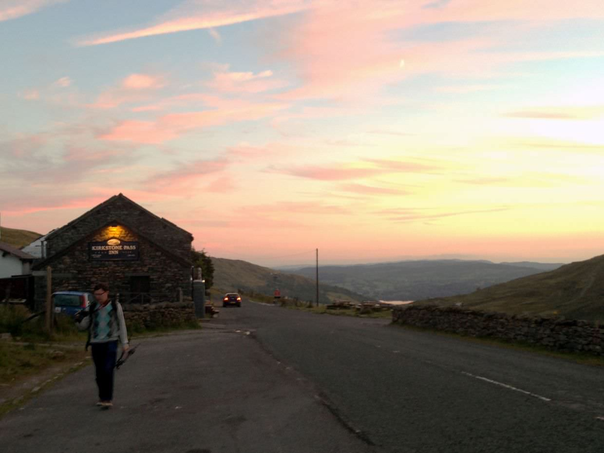 Sunset from Kirkstone Pass