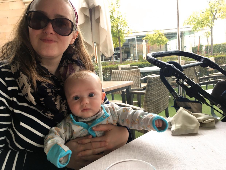 Samantha and Conway at Marisqueria Godoy