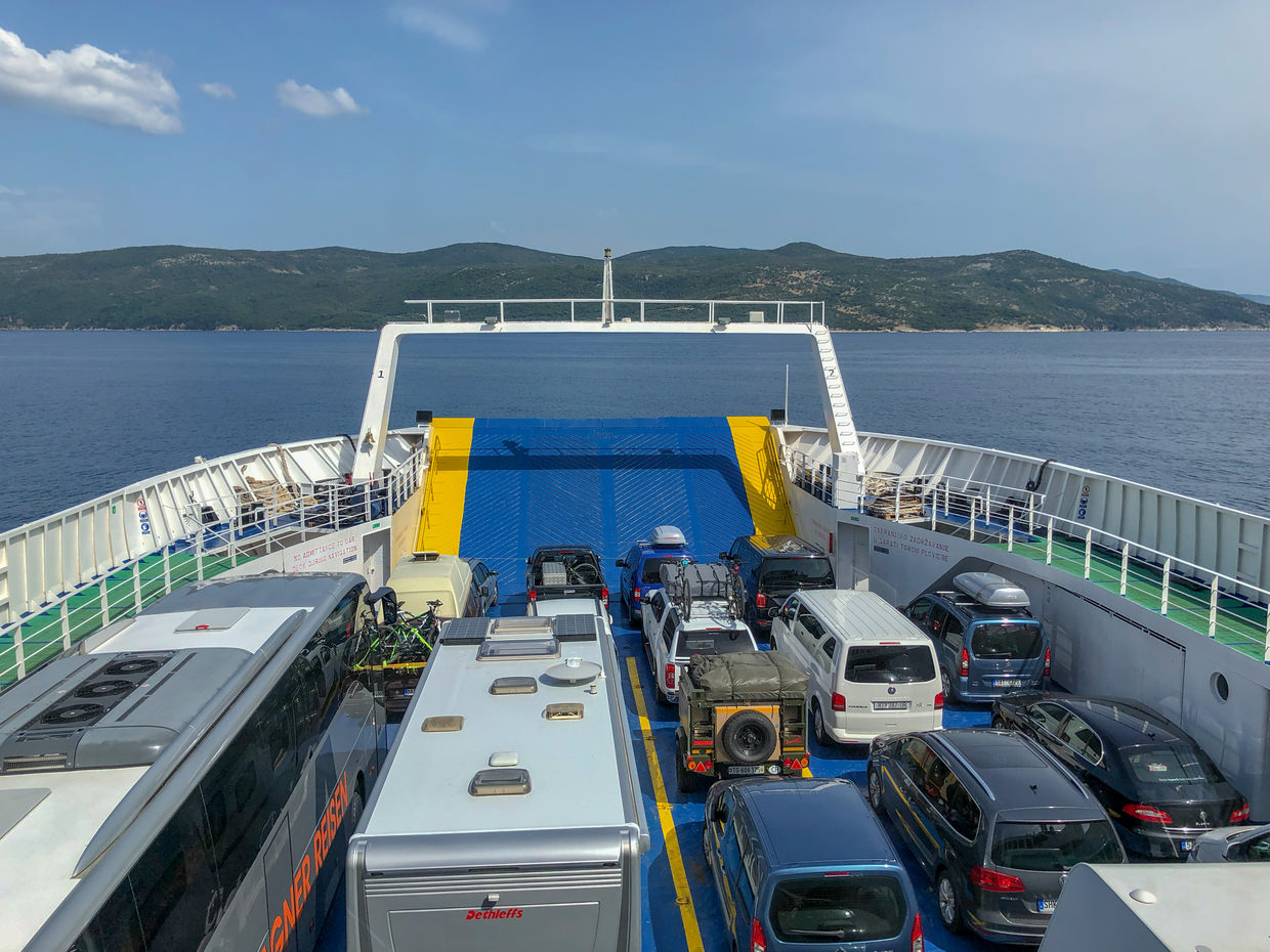 Car ferry to Cres