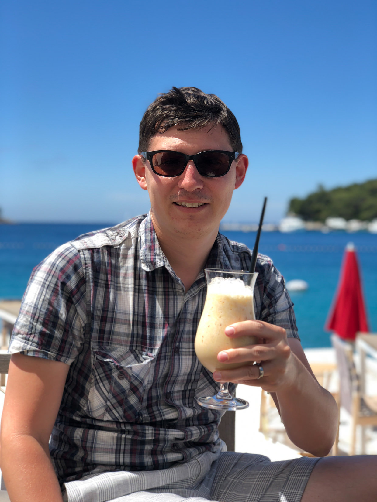 Smoothies by the sea