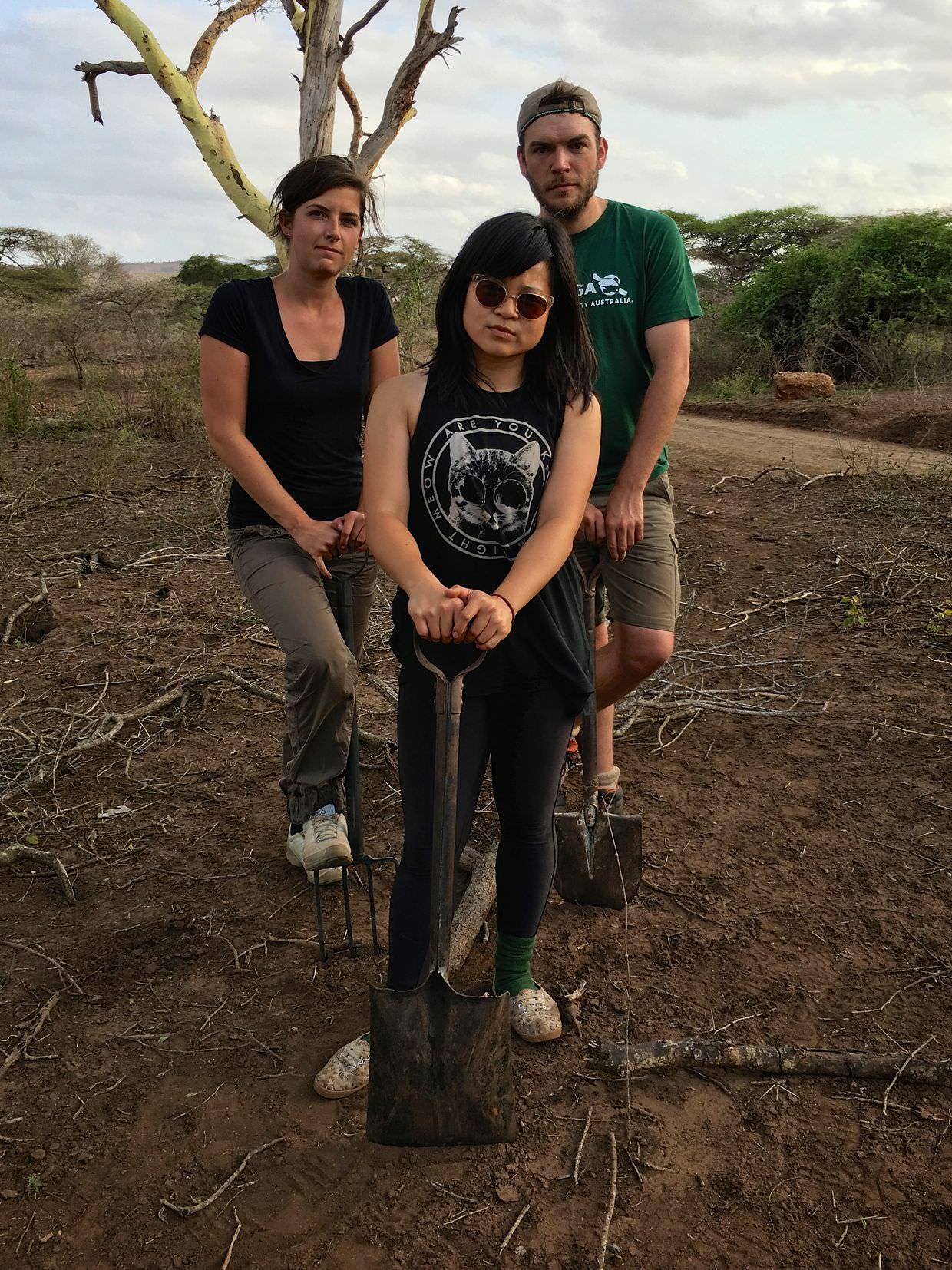 Team Africa – building roads, kicking ass