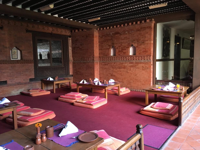 Restaurant at Kantipur Temple House
