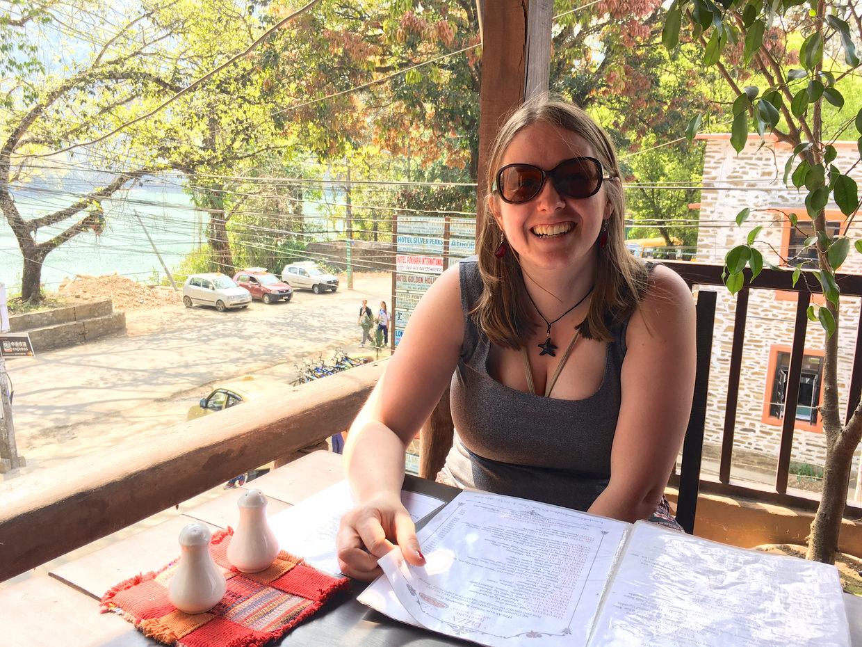 Samantha at Caffe Concerto