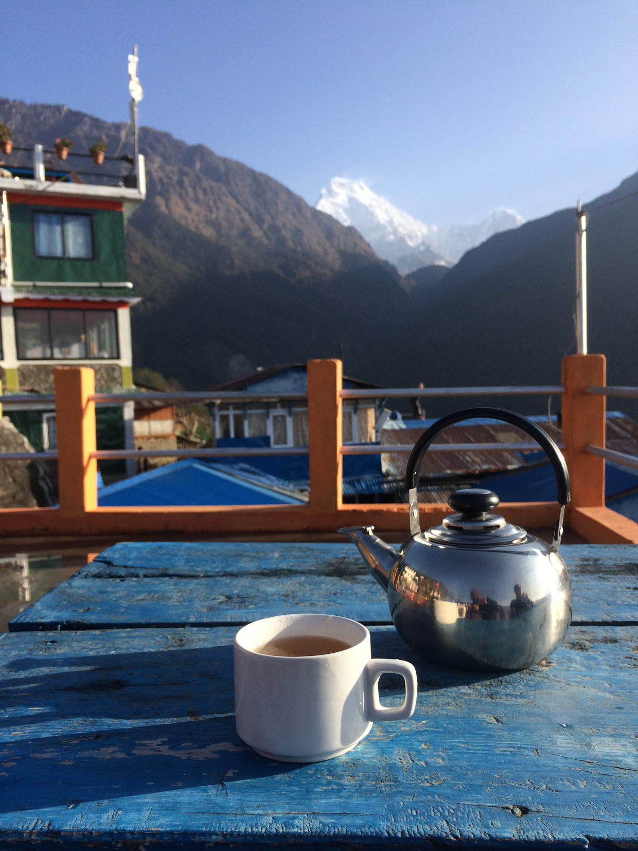 Tea and mountains