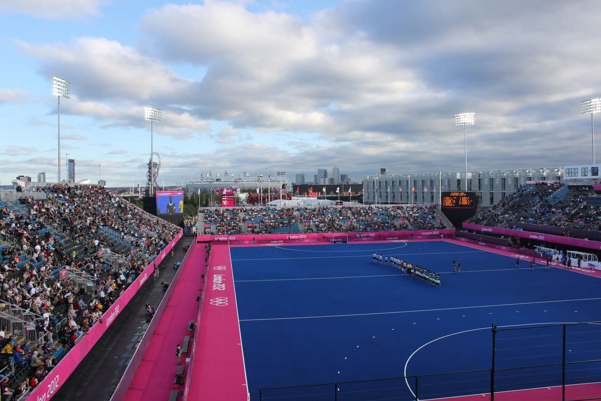 Olympic hockey stadium