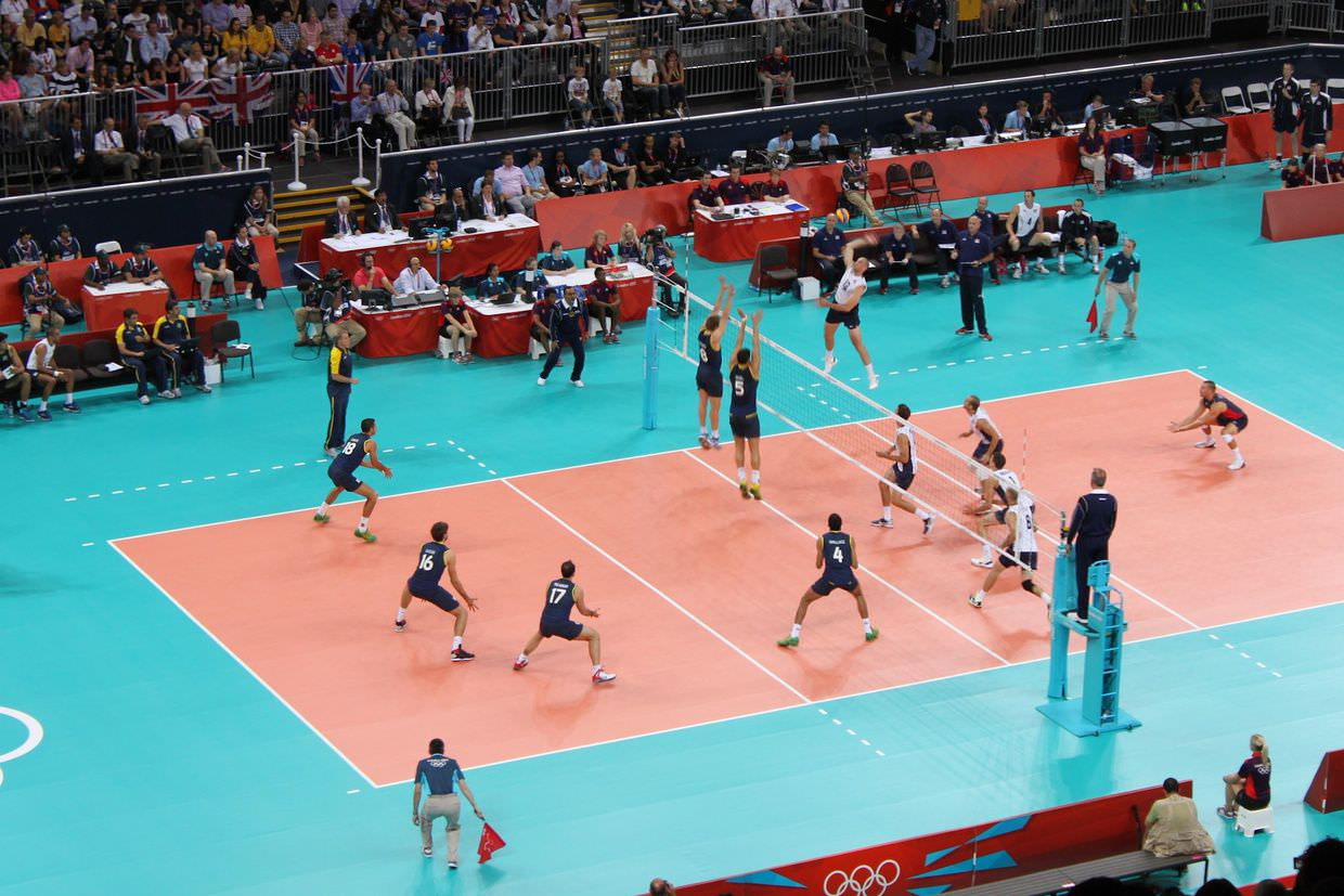Men's olympic volleyball