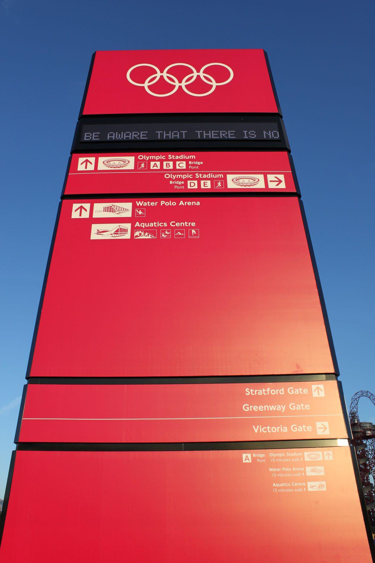 Olympic obelisk