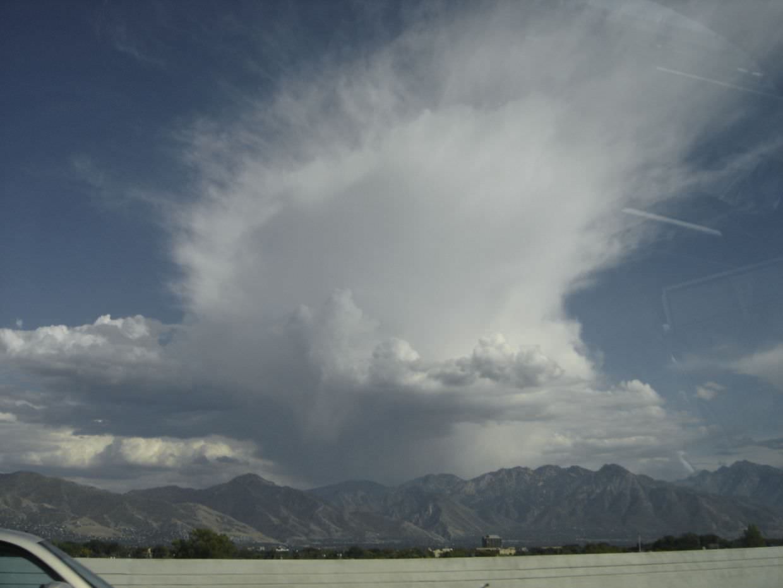 Clouds over Salt Lake City