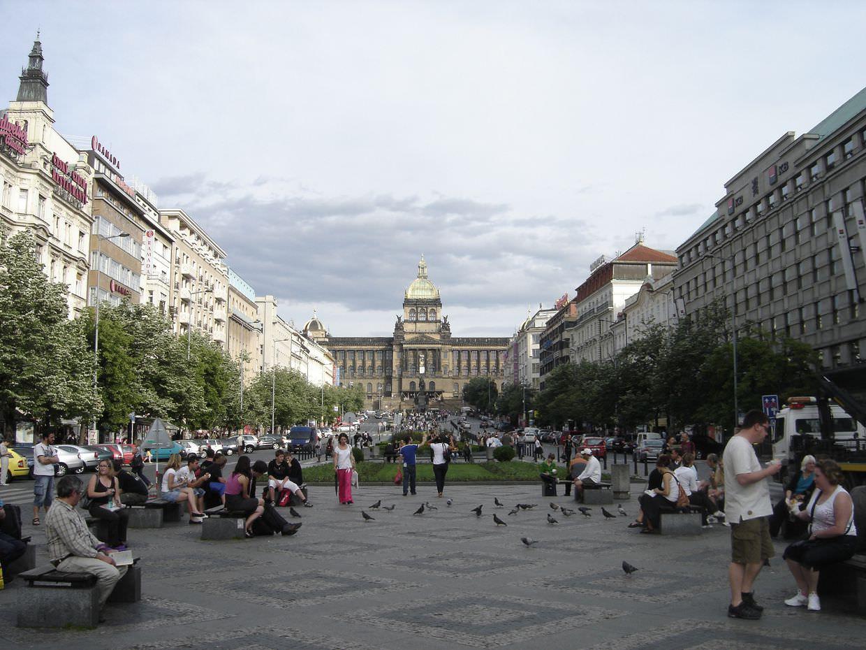 St Wenceslas square
