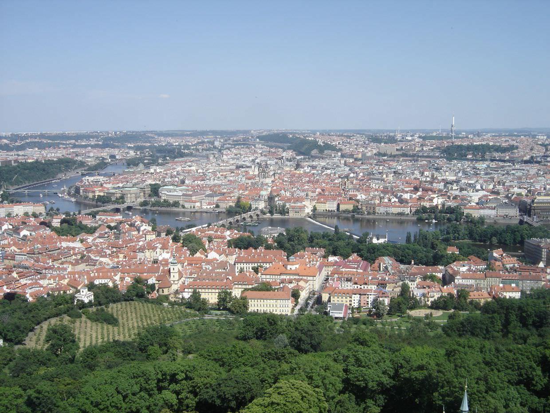 Prague, river and bridges