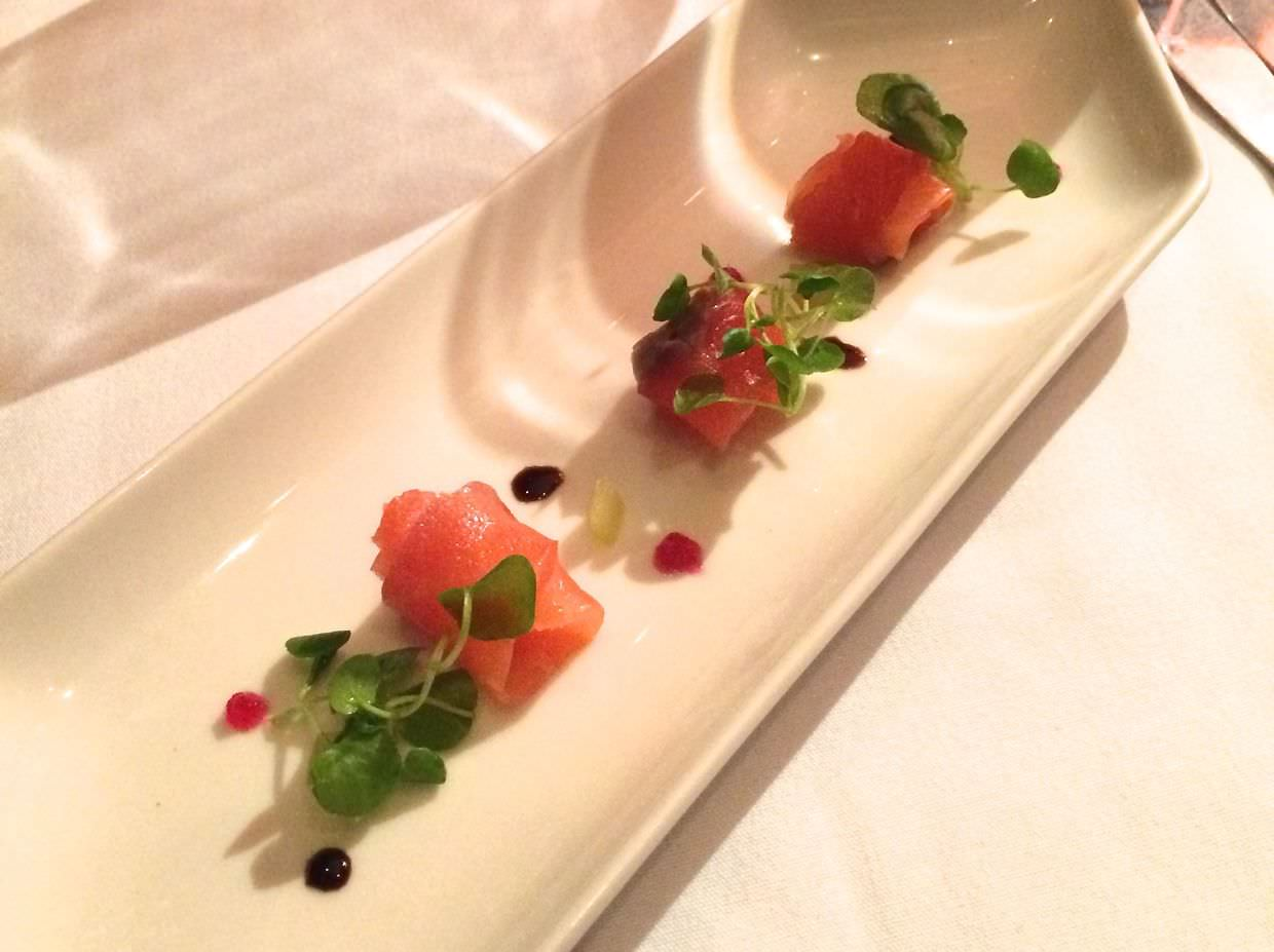 Cured wild salmon