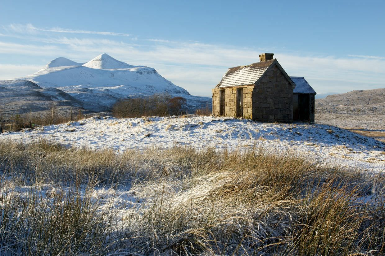 House and Cul Mor, by Paul