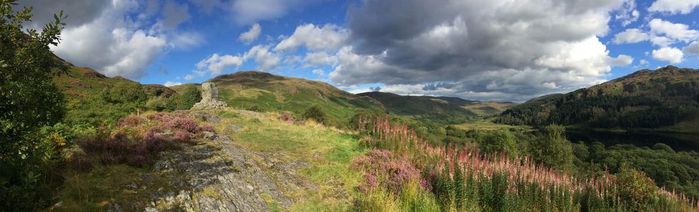 Panoramic of Glentrool