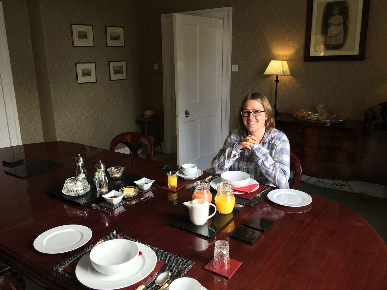 Breakfast at Holmhill Country House