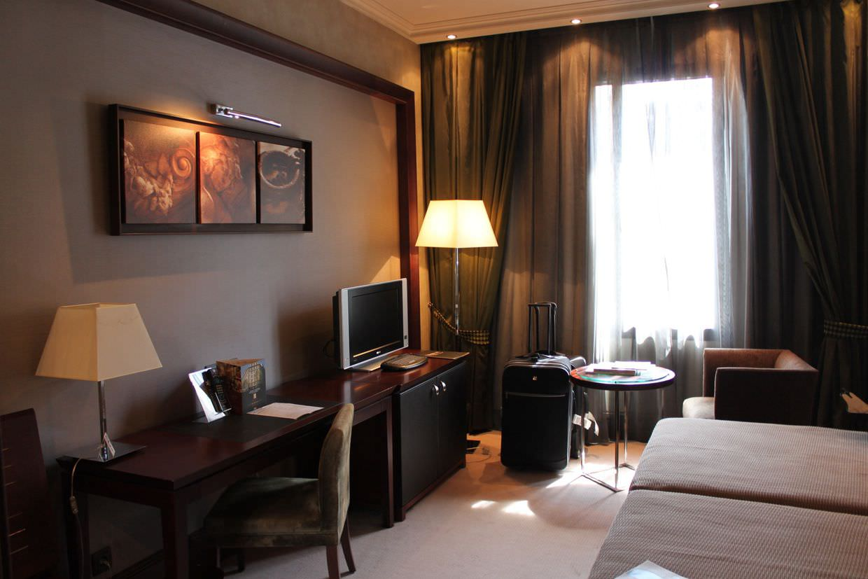 Our room in Hotel Center
