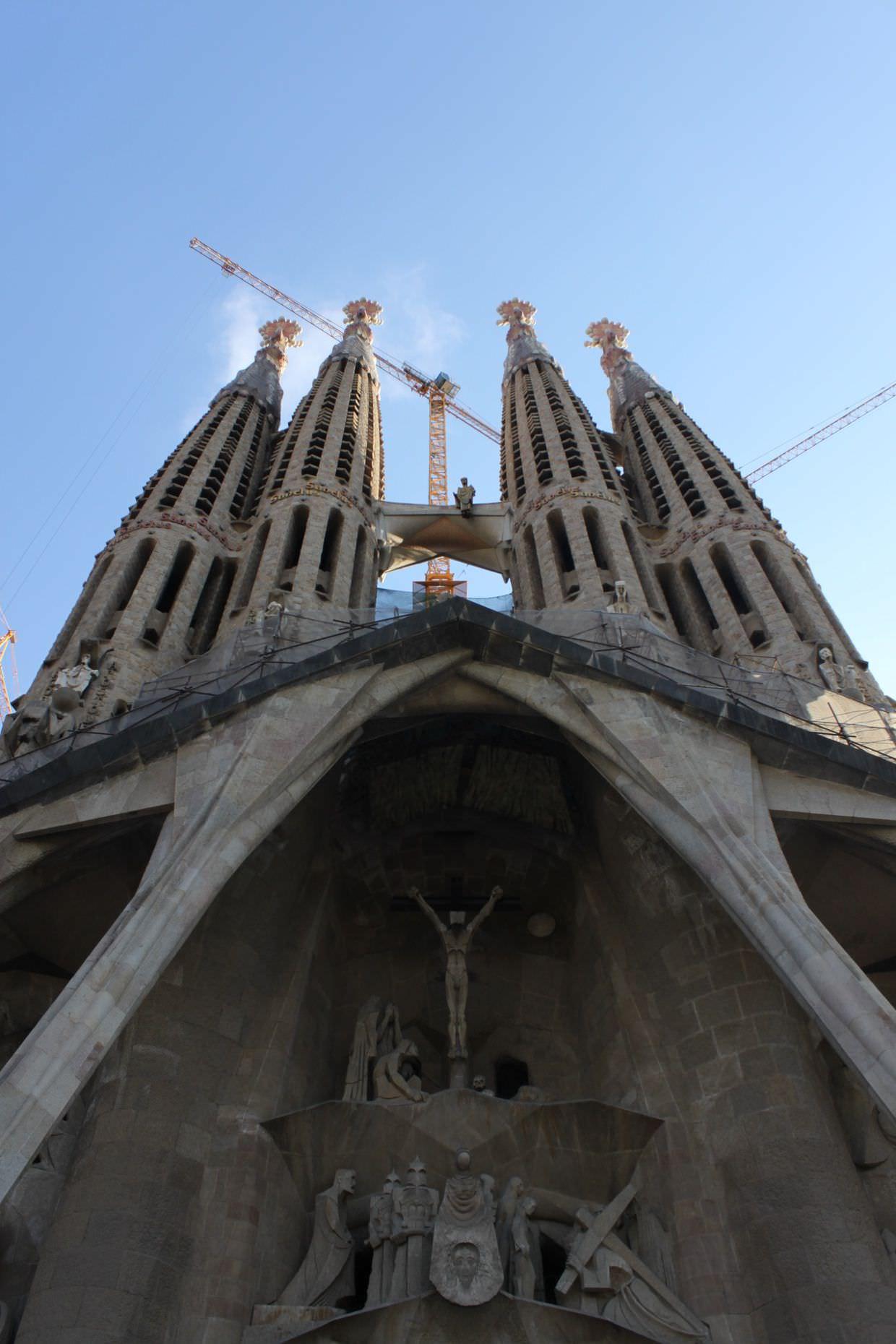 Welcome to La Sagrada Família…