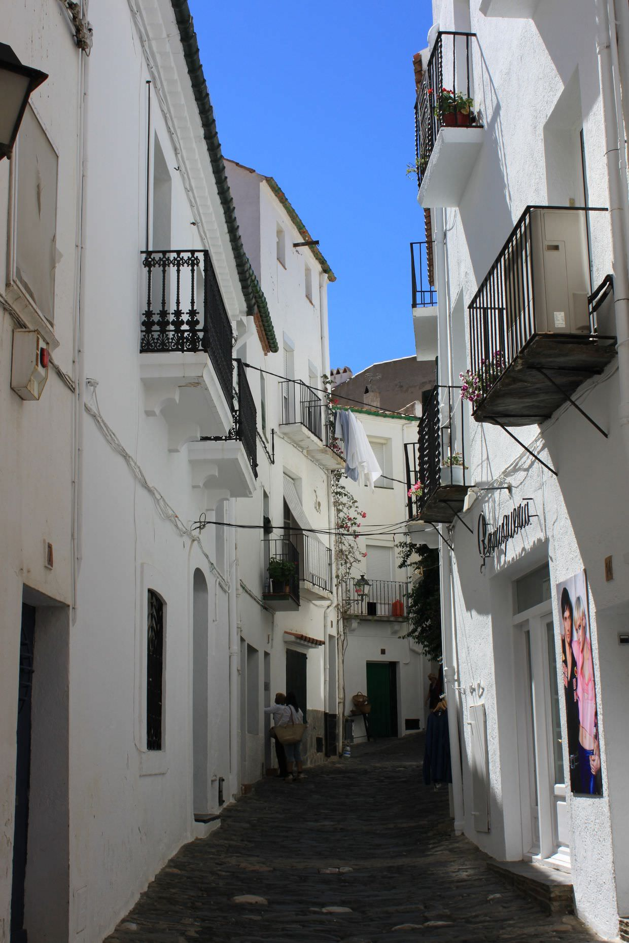 Narrow streets of Cadaqués
