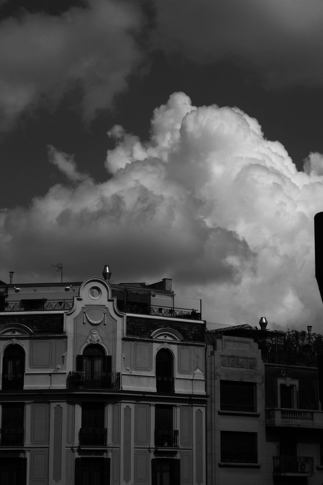 Stormy Barcelona