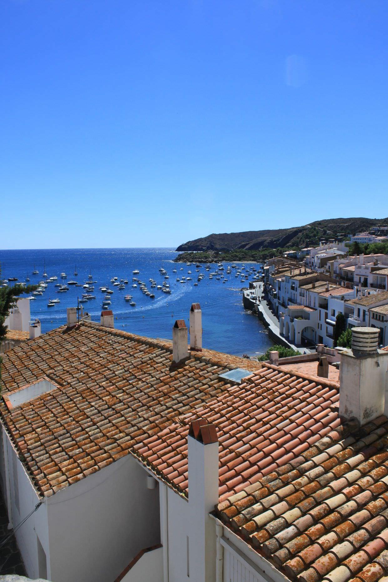 Terracotta rooftops of Cadaqués