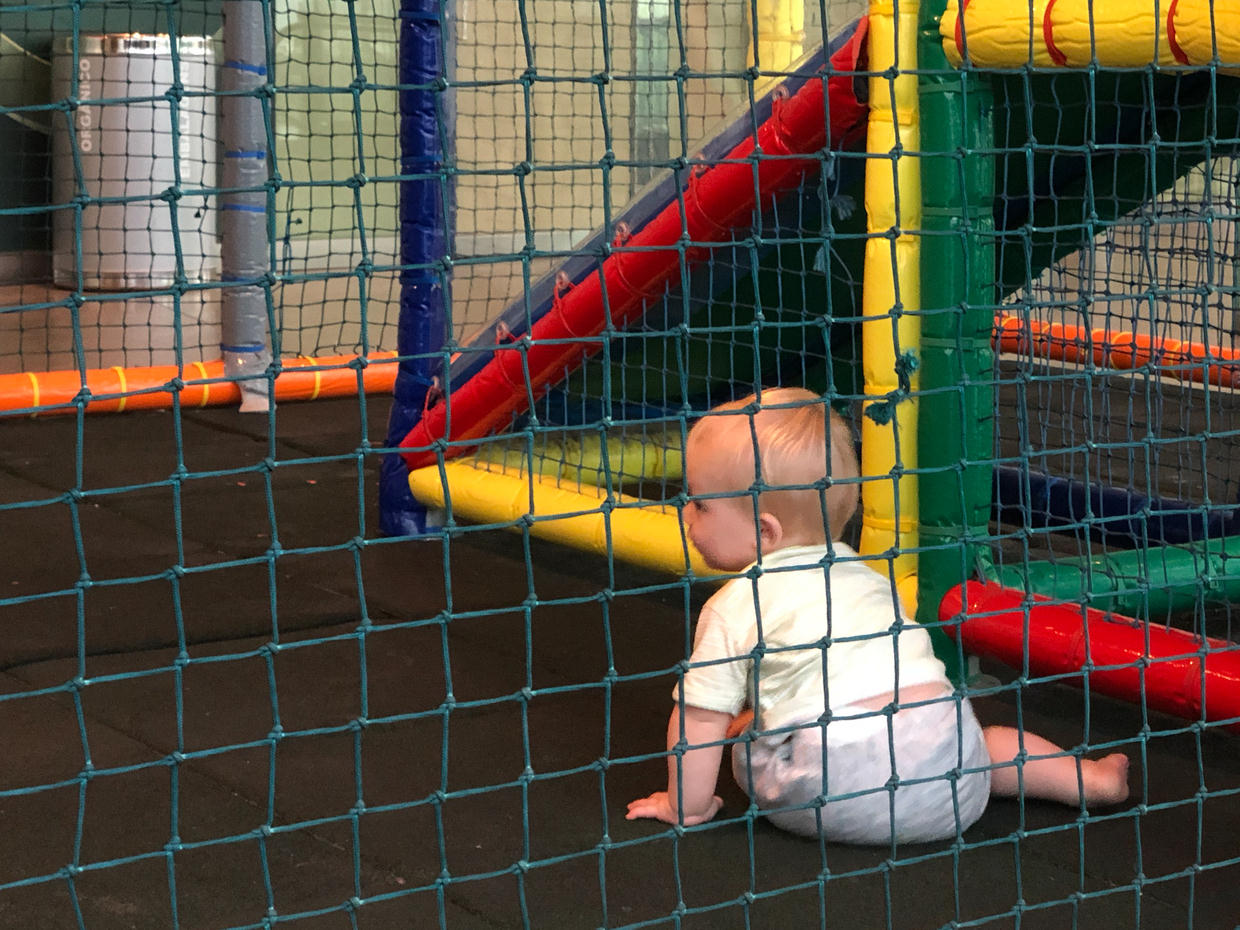 Soft play at the mall