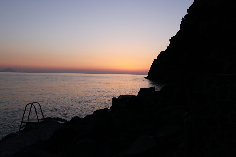 Dawn on Vulcano