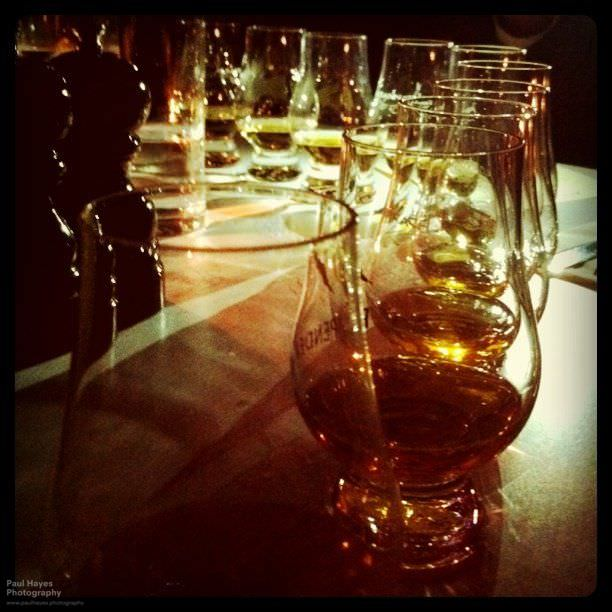 Whiskies at the Albannach